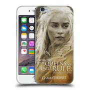 Official Hbo Game Of Thrones Character Portraits Daenerys Targaryen Soft Gel Case For Apple Iphone 6 / 6S
