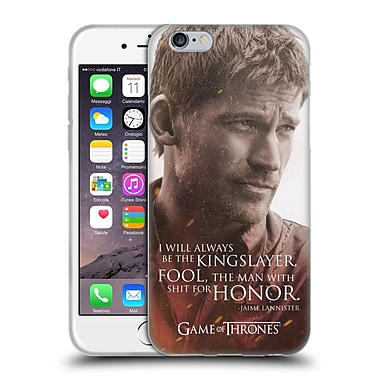 Official Hbo Game Of Thrones Character Portraits Jaime Lannister Soft Gel Case For Apple Iphone 6 / 6S