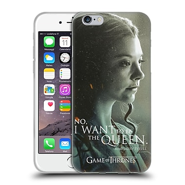 Official Hbo Game Of Thrones Character Portraits Margaery Tyrell Soft Gel Case For Apple Iphone 6 / 6S