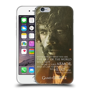 Official Hbo Game Of Thrones Character Portraits Tyrion Lannister Soft Gel Case For Apple Iphone 6 / 6S