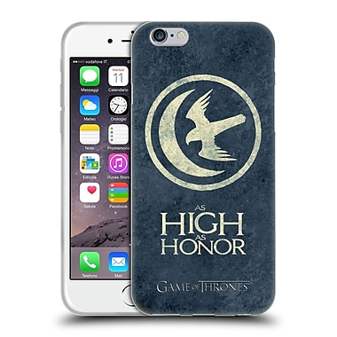 Official Hbo Game Of Thrones Dark Distressed Sigils Arryn Soft Gel Case For Apple Iphone 6 / 6S