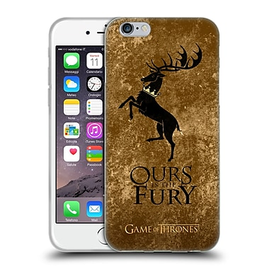 Official Hbo Game Of Thrones Dark Distressed Sigils Baratheon Soft Gel Case For Apple Iphone 6 / 6S