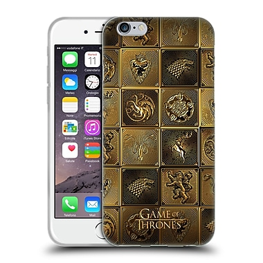 Official Hbo Game Of Thrones Golden Sigils All Houses Soft Gel Case For Apple Iphone 6 / 6S