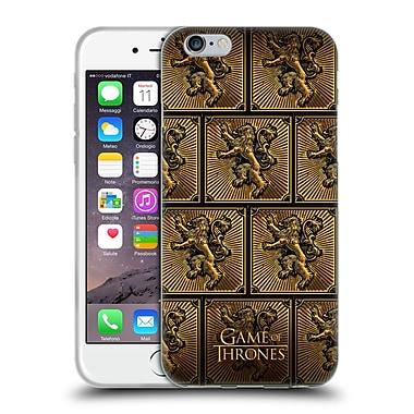 Official Hbo Game Of Thrones Golden Sigils Lannister Soft Gel Case For Apple Iphone 6 / 6S