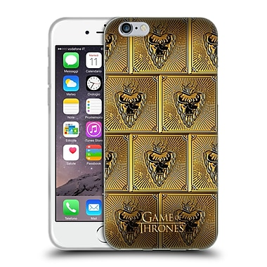 Official Hbo Game Of Thrones Golden Sigils Stannis Soft Gel Case For Apple Iphone 6 / 6S