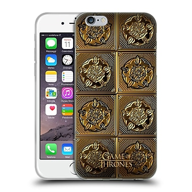 Official Hbo Game Of Thrones Golden Sigils Tyrell Soft Gel Case For Apple Iphone 6 / 6S