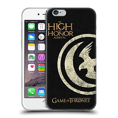 Official Hbo Game Of Thrones House Mottos Arryn Soft Gel Case For Apple Iphone 6 / 6S