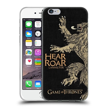 Official Hbo Game Of Thrones House Mottos Lannister Soft Gel Case For Apple Iphone 6 / 6S