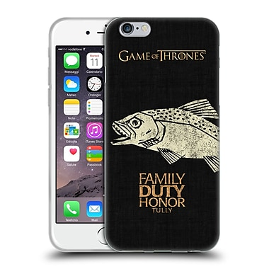 Official Hbo Game Of Thrones House Mottos Tully Soft Gel Case For Apple Iphone 6 / 6S