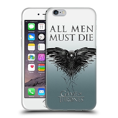 Official Hbo Game Of Thrones Key Art All Men Soft Gel Case For Apple Iphone 6 / 6S