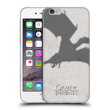 Official Hbo Game Of Thrones Key Art Dragon Soft Gel Case For Apple Iphone 6 / 6S