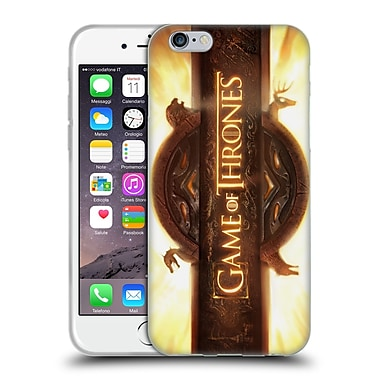 Official Hbo Game Of Thrones Key Art Opening Sequence Soft Gel Case For Apple Iphone 6 / 6S