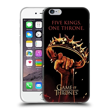 Official Hbo Game Of Thrones Key Art One Throne Soft Gel Case For Apple Iphone 6 / 6S