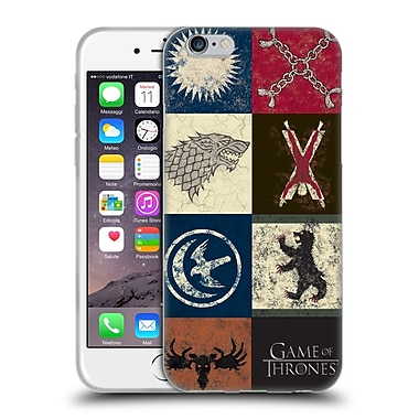 Official Hbo Game Of Thrones Battle Of The Bastards House Sigils Soft Gel Case For Apple Iphone 6 / 6S