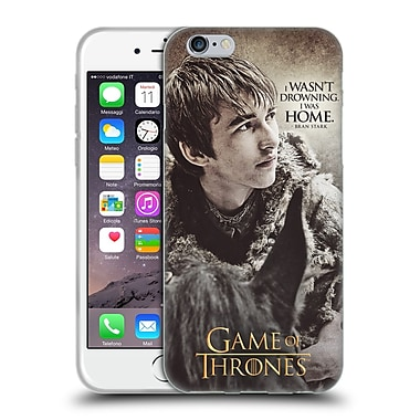 Official Hbo Game Of Thrones Character Quotes Bran Stark Soft Gel Case For Apple Iphone 6 / 6S