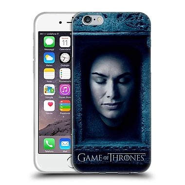 Official Hbo Game Of Thrones Faces Cersei Lannister Soft Gel Case For Apple Iphone 6 / 6S