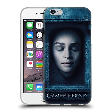Official Hbo Game Of Thrones Faces Daenerys Targaryen Soft Gel Case For Apple Iphone 6 / 6S