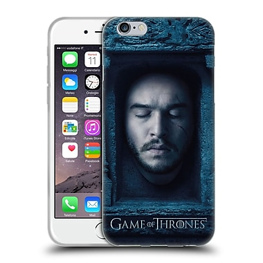 Official Hbo Game Of Thrones Faces Jon Snow Soft Gel Case For Apple Iphone 6 / 6S