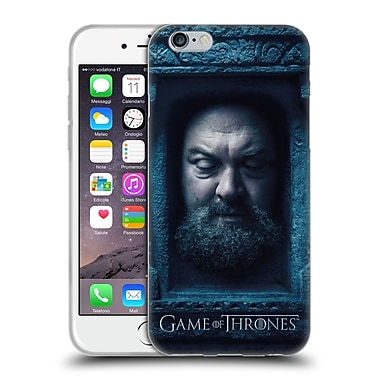 Official Hbo Game Of Thrones Faces Robert Baratheon Soft Gel Case For Apple Iphone 6 / 6S