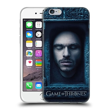 Official Hbo Game Of Thrones Faces Robb Stark Soft Gel Case For Apple Iphone 6 / 6S