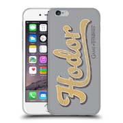 Official Hbo Game Of Thrones Hodor Athletic Typography Soft Gel Case For Apple Iphone 6 / 6S