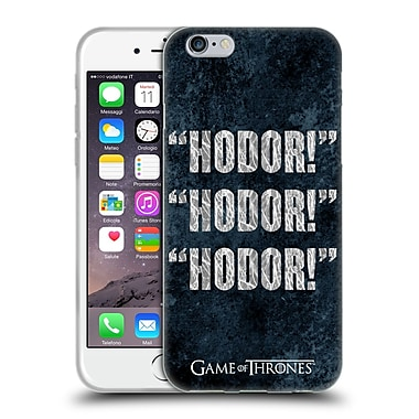 Official Hbo Game Of Thrones Hodor Quote 1 Soft Gel Case For Apple Iphone 6 / 6S