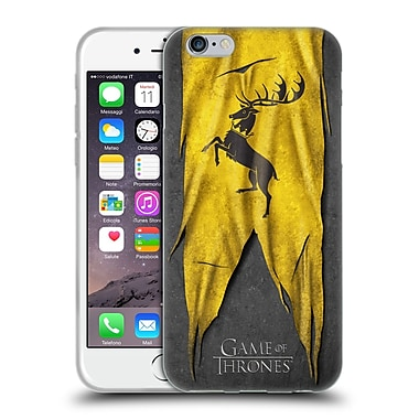 Official Hbo Game Of Thrones Sigil Flags Baratheon Soft Gel Case For Apple Iphone 6 / 6S