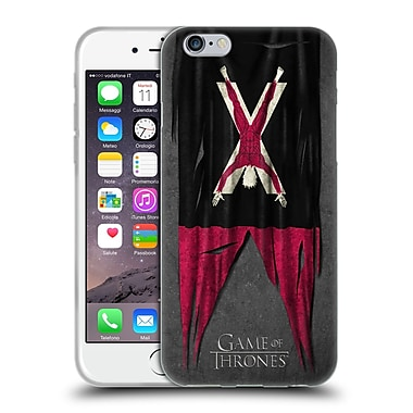 Official Hbo Game Of Thrones Sigil Flags Bolton Soft Gel Case For Apple Iphone 6 / 6S