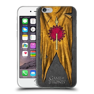 Official Hbo Game Of Thrones Sigil Flags Martell Soft Gel Case For Apple Iphone 6 / 6S