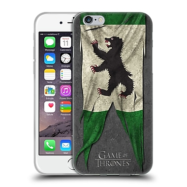 Official Hbo Game Of Thrones Sigil Flags Mormont Soft Gel Case For Apple Iphone 6 / 6S