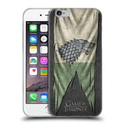 Official Hbo Game Of Thrones Sigil Flags Stark Soft Gel Case For Apple Iphone 6 / 6S