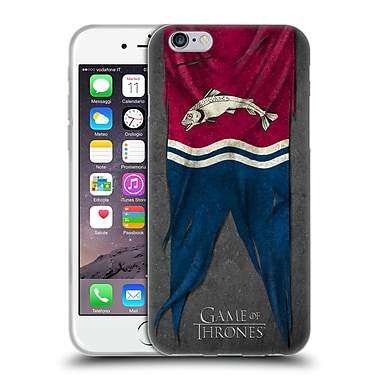 Official Hbo Game Of Thrones Sigil Flags Tully Soft Gel Case For Apple Iphone 6 / 6S
