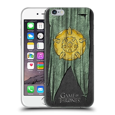 Official Hbo Game Of Thrones Sigil Flags Tyrell Soft Gel Case For Apple Iphone 6 / 6S