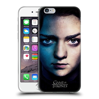 Official Hbo Game Of Thrones Valar Morghulis Arya Stark Soft Gel Case For Apple Iphone 6 / 6S