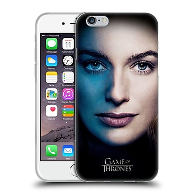 Official Hbo Game Of Thrones Valar Morghulis Cersei Lannister Soft Gel Case For Apple Iphone 6 / 6S