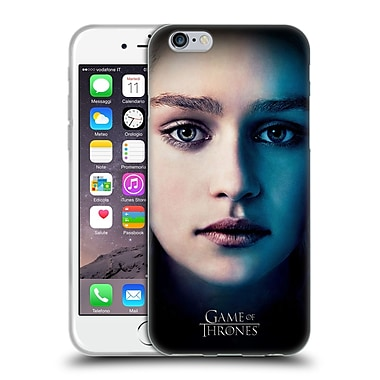 Official Hbo Game Of Thrones Valar Morghulis Daenerys Targaryen Soft Gel Case For Apple Iphone 6 / 6S