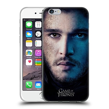 Official Hbo Game Of Thrones Valar Morghulis Jon Snow Soft Gel Case For Apple Iphone 6 / 6S