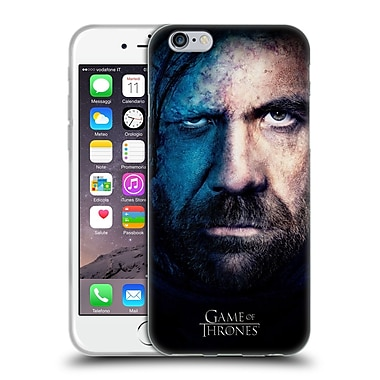 Official Hbo Game Of Thrones Valar Morghulis Sandor Clegane Soft Gel Case For Apple Iphone 6 / 6S