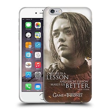 Official Hbo Game Of Thrones Character Portraits Arya Stark Soft Gel Case For Apple Iphone 6 Plus / 6S Plus