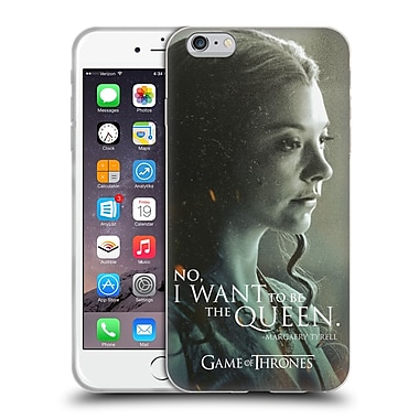 Official Hbo Game Of Thrones Character Portraits Margaery Tyrell Soft Gel Case For Apple Iphone 6 Plus / 6S Plus