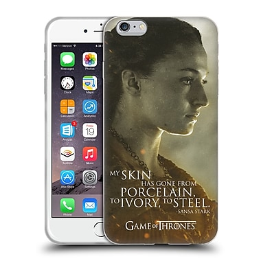 Official Hbo Game Of Thrones Character Portraits Sansa Stark Soft Gel Case For Apple Iphone 6 Plus / 6S Plus