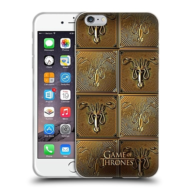 Official Hbo Game Of Thrones Golden Sigils Greyjoy Soft Gel Case For Apple Iphone 6 Plus / 6S Plus