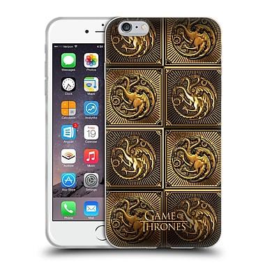 Official Hbo Game Of Thrones Golden Sigils Targaryen Soft Gel Case For Apple Iphone 6 Plus / 6S Plus