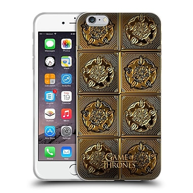 Official Hbo Game Of Thrones Golden Sigils Tyrell Soft Gel Case For Apple Iphone 6 Plus / 6S Plus