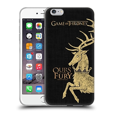 Official Hbo Game Of Thrones House Mottos Baratheon Soft Gel Case For Apple Iphone 6 Plus / 6S Plus