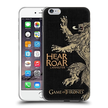Official Hbo Game Of Thrones House Mottos Lannister Soft Gel Case For Apple Iphone 6 Plus / 6S Plus