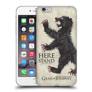 Official Hbo Game Of Thrones House Mottos Mormont Soft Gel Case For Apple Iphone 6 Plus / 6S Plus