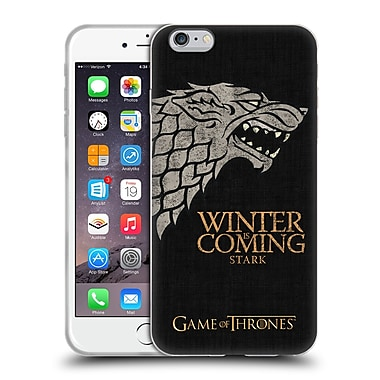 Official Hbo Game Of Thrones House Mottos Stark Soft Gel Case For Apple Iphone 6 Plus / 6S Plus