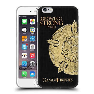 Official Hbo Game Of Thrones House Mottos Tyrell Soft Gel Case For Apple Iphone 6 Plus / 6S Plus