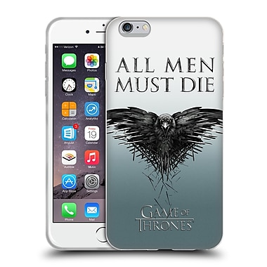 Official Hbo Game Of Thrones Key Art All Men Soft Gel Case For Apple Iphone 6 Plus / 6S Plus